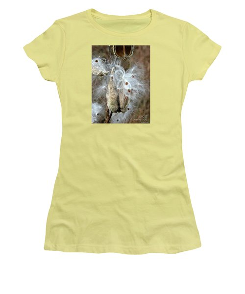 Milkweeds Seeds  Women's T-Shirt (Athletic Fit)