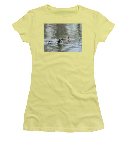 Women's T-Shirt (Junior Cut) featuring the photograph Millard Family by Edward Peterson