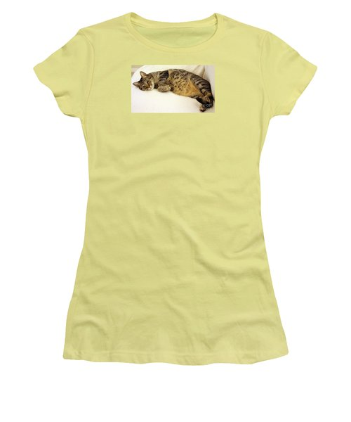 Ming Resting On The Couch Women's T-Shirt (Athletic Fit)