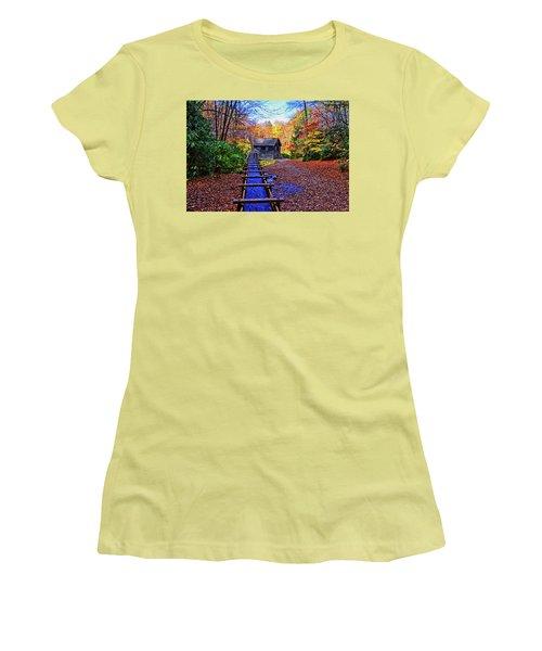 Mingus Mill 002 Women's T-Shirt (Junior Cut) by George Bostian