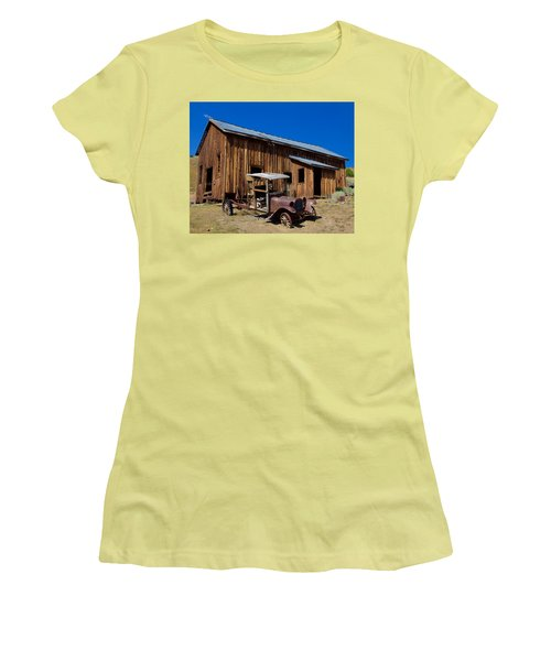 Mining Relic Women's T-Shirt (Athletic Fit)
