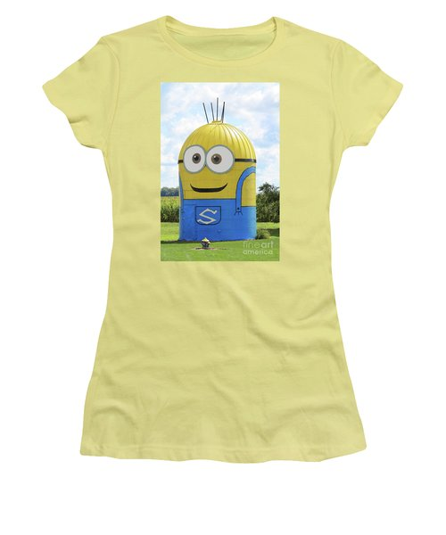 Minion Silo Women's T-Shirt (Athletic Fit)