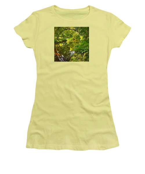 Women's T-Shirt (Junior Cut) featuring the photograph Minnesota Living by Lisa Piper