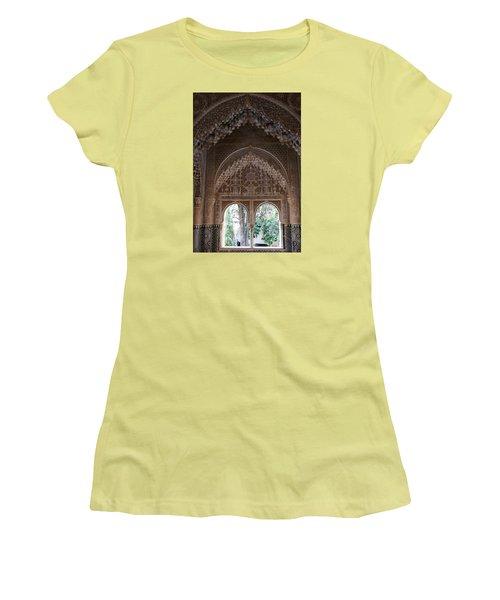 Mirador De Daraxa Women's T-Shirt (Junior Cut) by Christian Zesewitz