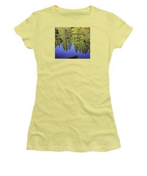 Mirror Mirror-2 Women's T-Shirt (Junior Cut) by Nancy Marie Ricketts