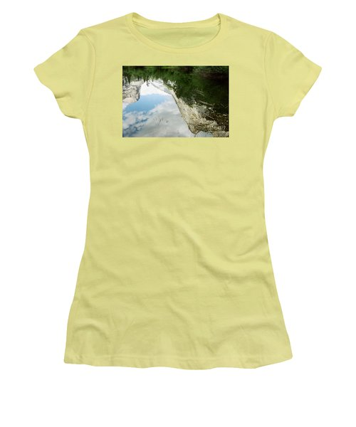Mirrored Women's T-Shirt (Junior Cut) by Kathy McClure