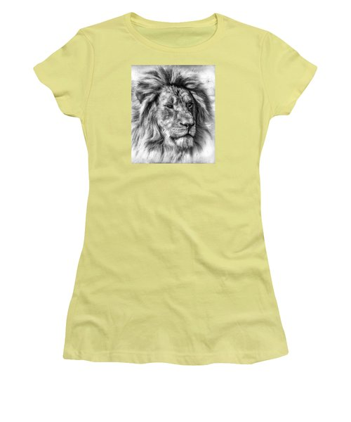 Women's T-Shirt (Junior Cut) featuring the photograph Mischievous  by Elaine Malott