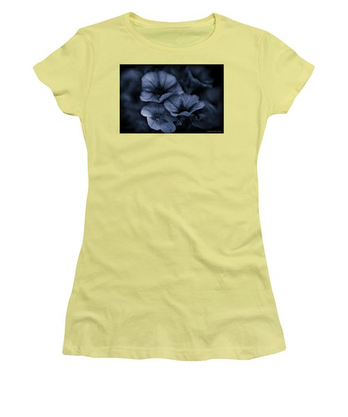 Women's T-Shirt (Junior Cut) featuring the photograph Misterious by Michaela Preston