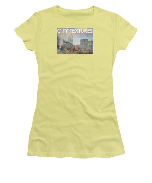 Misty City Textures Women's T-Shirt (Athletic Fit)