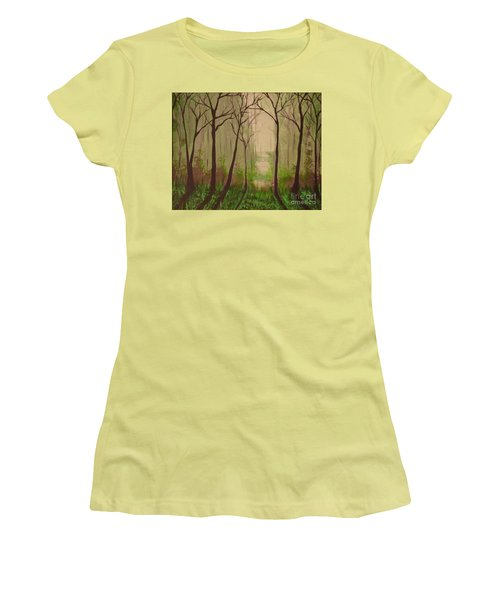 Misty Morning Women's T-Shirt (Athletic Fit)