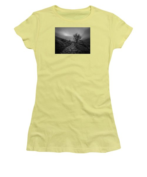 Misty Valley Women's T-Shirt (Athletic Fit)