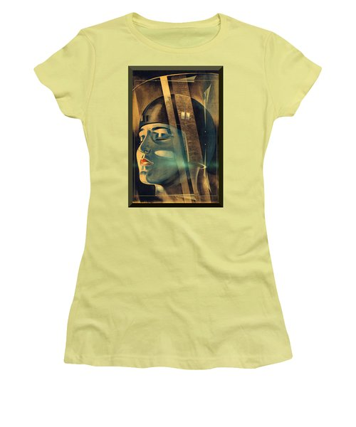 Metropolis Maria Transformation Women's T-Shirt (Junior Cut) by Robert G Kernodle