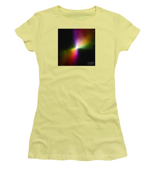 Modern Art- The Boomerang Nebula - Heavenly Bodies Women's T-Shirt (Junior Cut) by Merton Allen
