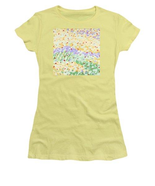 Modern Landscape Painting 3 Women's T-Shirt (Junior Cut) by Gordon Punt