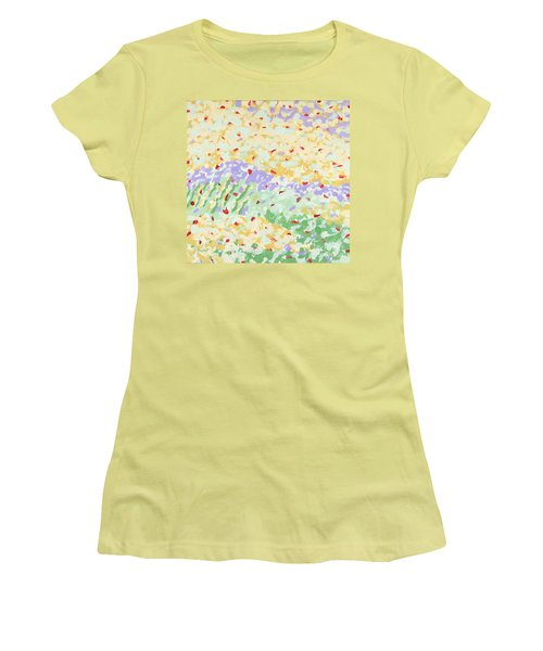 Modern Landscape Painting 3 Women's T-Shirt (Athletic Fit)