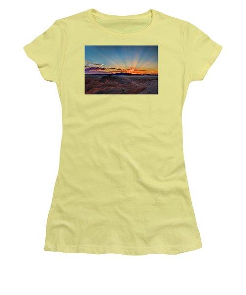 Mohave Sunrise Women's T-Shirt (Junior Cut) by Mark Dunton