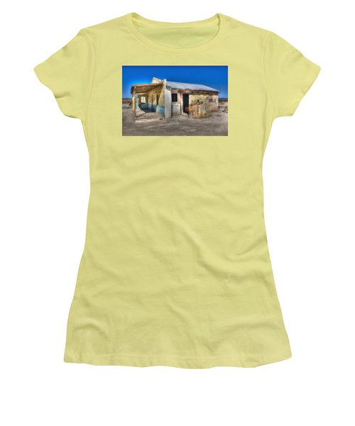Mojave Times Women's T-Shirt (Junior Cut) by Richard J Cassato