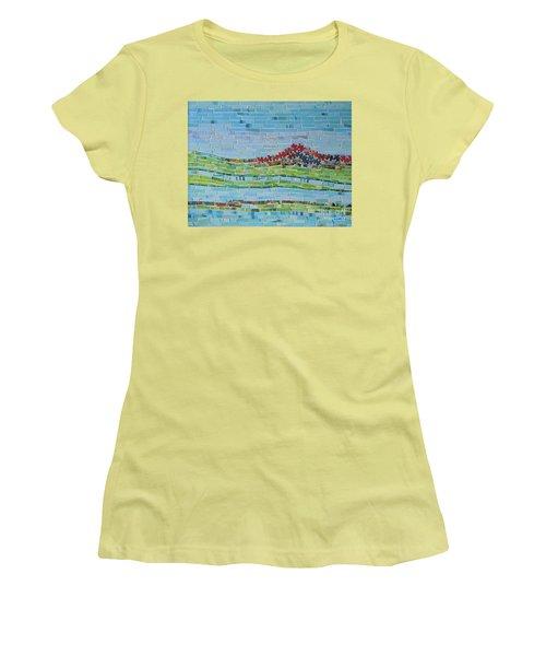 Mole Hill Reborn Women's T-Shirt (Junior Cut) by Judith Espinoza