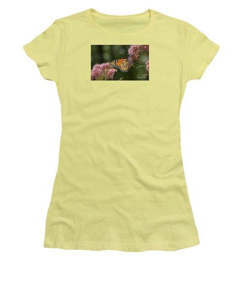 Monarch Butterfly Women's T-Shirt (Junior Cut) by Alana Ranney