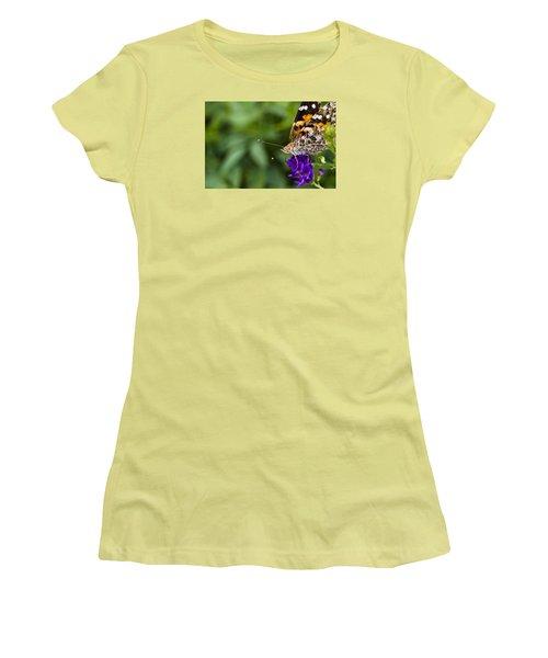 Monarch Butterfly Women's T-Shirt (Junior Cut) by Marlo Horne