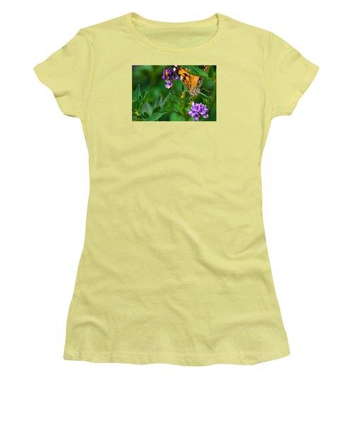 Monarch Women's T-Shirt (Junior Cut) by Marlo Horne