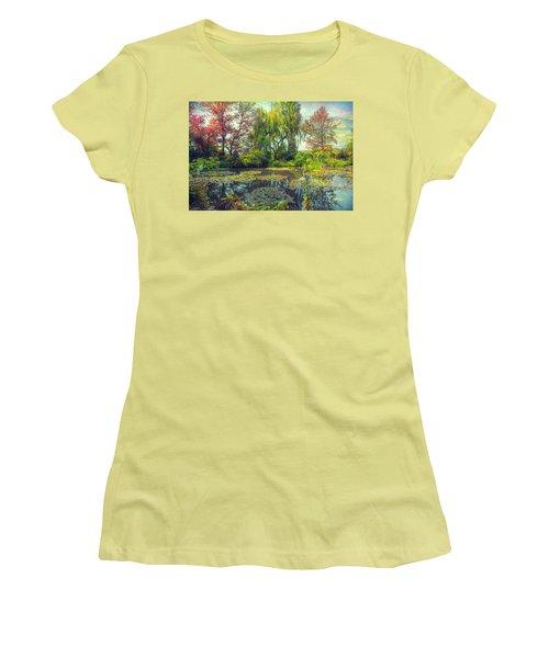 Monet's Afternoon Women's T-Shirt (Junior Cut) by John Rivera
