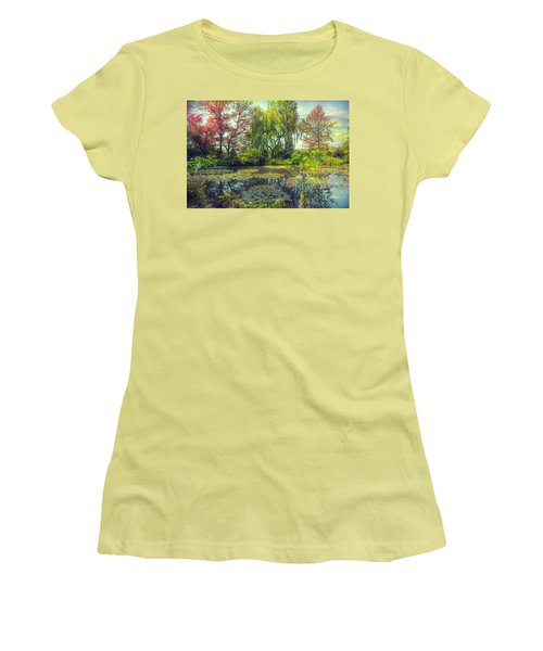Monet's Afternoon Women's T-Shirt (Athletic Fit)