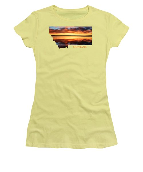 Montana Glory Women's T-Shirt (Athletic Fit)