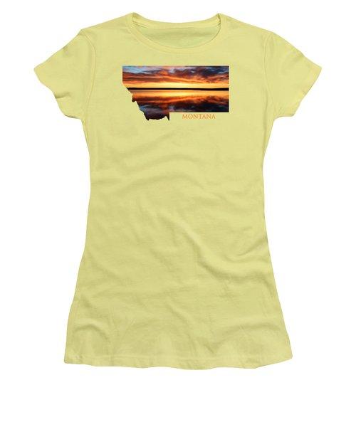 Montana Glory Women's T-Shirt (Athletic Fit)