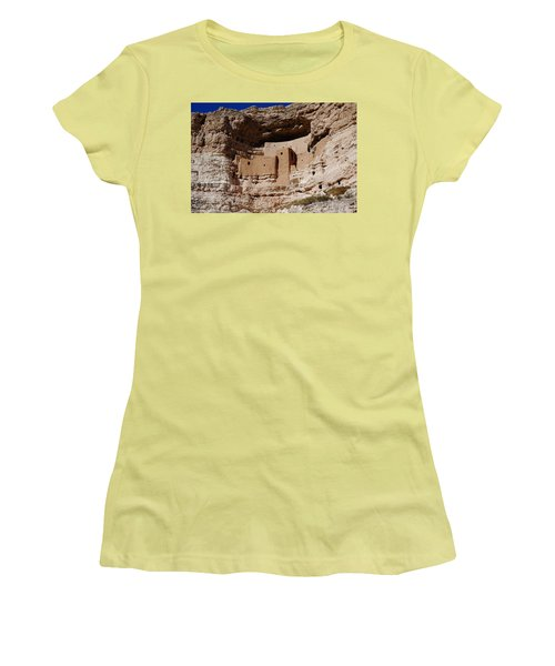 Montezuma Castle Women's T-Shirt (Athletic Fit)