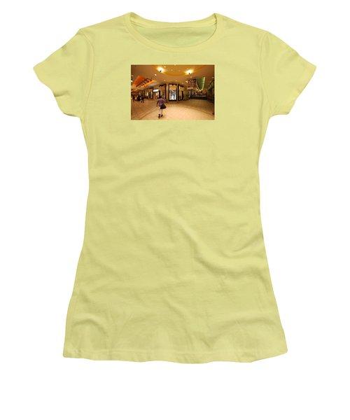 Montreal Underground Women's T-Shirt (Junior Cut) by John Schneider