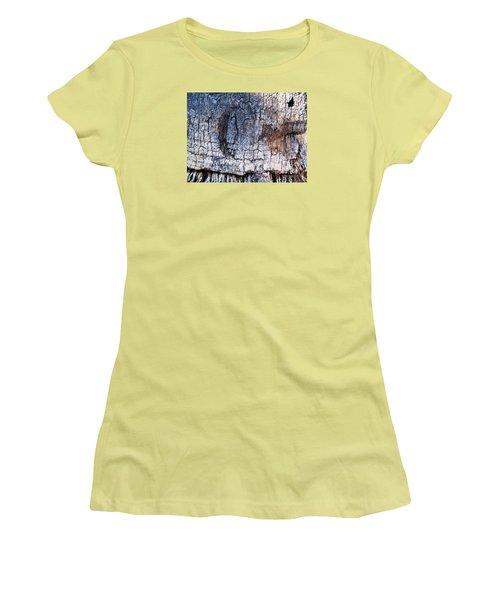 Women's T-Shirt (Junior Cut) featuring the photograph Moon by Vanessa Palomino