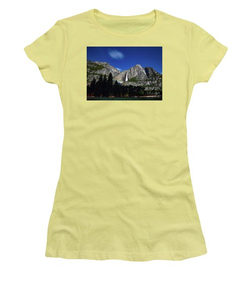 Moonbow And Louds  Women's T-Shirt (Athletic Fit)