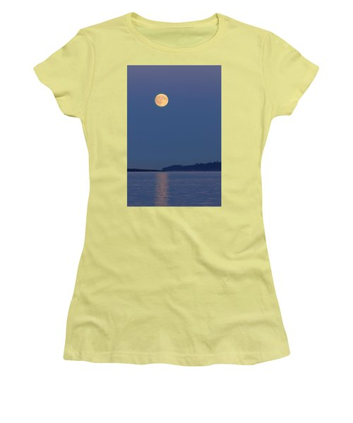 Moonlight - 365-224 Women's T-Shirt (Junior Cut) by Inge Riis McDonald