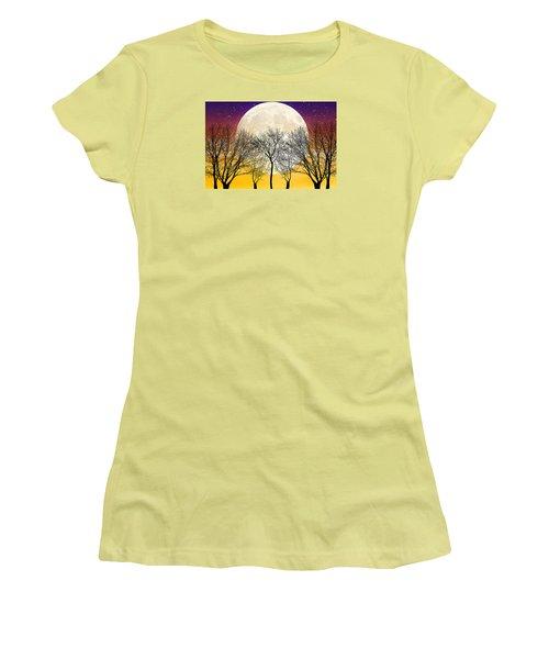 Moonlight Women's T-Shirt (Athletic Fit)