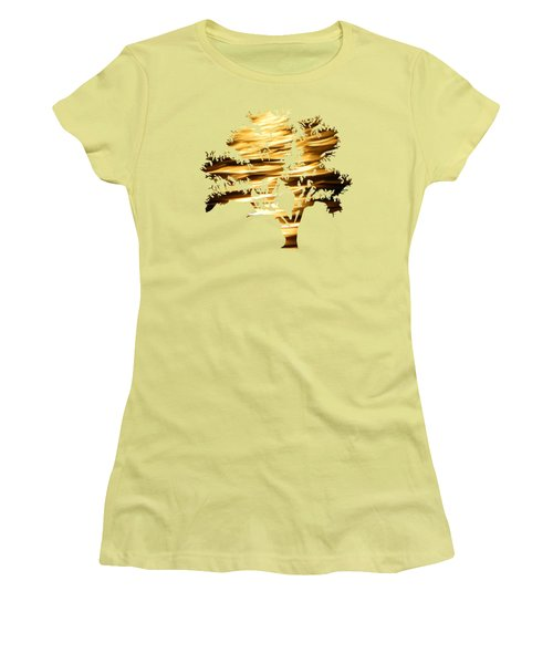 Moonshine Tree Women's T-Shirt (Athletic Fit)