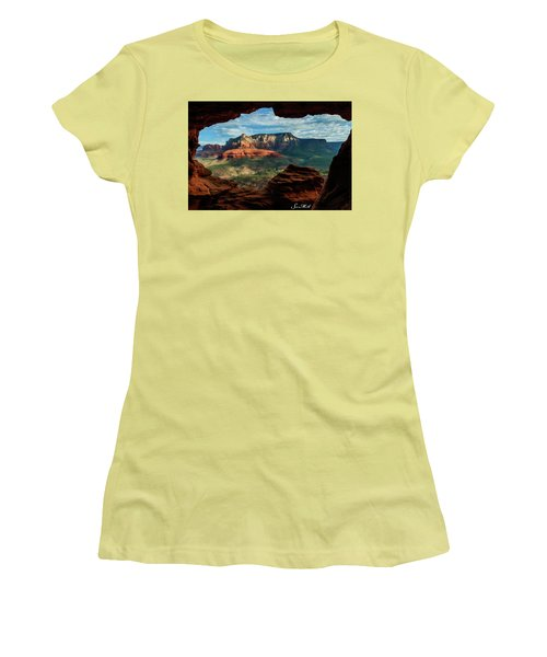 Moose Ridge 06-056 Women's T-Shirt (Junior Cut) by Scott McAllister