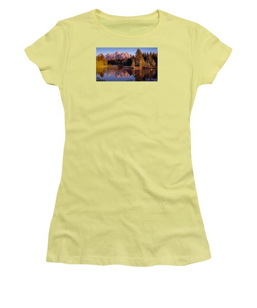 Moose Tetons Women's T-Shirt (Athletic Fit)