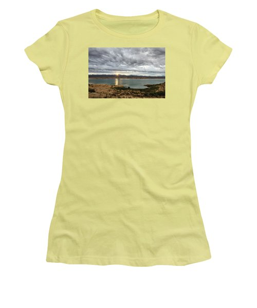 Morning After The Storm Women's T-Shirt (Athletic Fit)