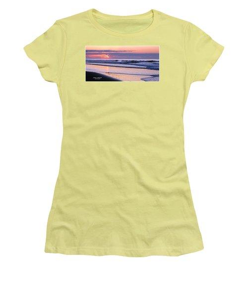 Morning Calm Women's T-Shirt (Junior Cut) by John Loreaux