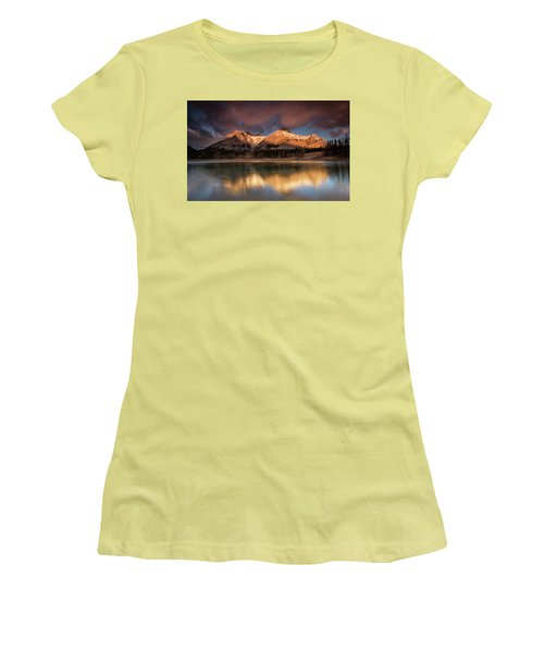 Morning Glory Women's T-Shirt (Athletic Fit)