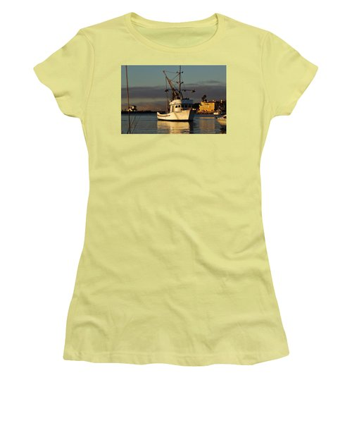 Morning Harbor Light Women's T-Shirt (Athletic Fit)