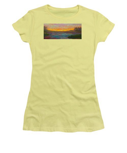 Southern Sunrise Women's T-Shirt (Junior Cut) by Jeanette Jarmon