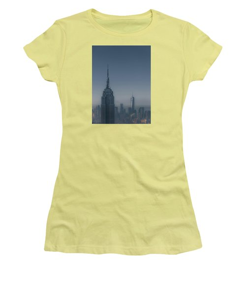 Morning In New York Women's T-Shirt (Athletic Fit)