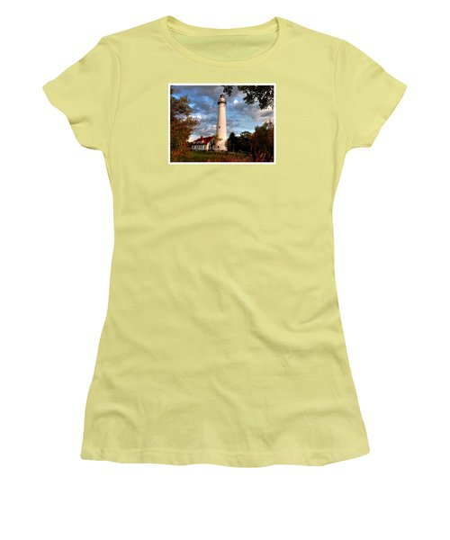 Morning Light On The Light Women's T-Shirt (Junior Cut) by Janice Adomeit