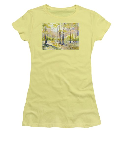 Morning Light - Spring Women's T-Shirt (Athletic Fit)
