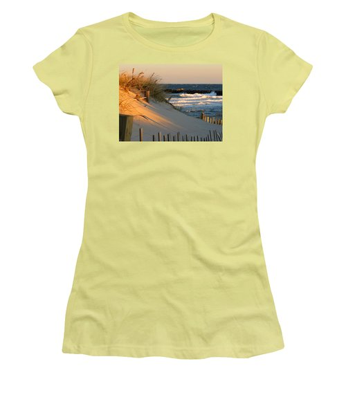 Morning's Light Women's T-Shirt (Athletic Fit)