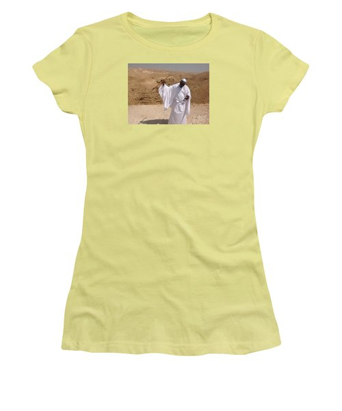 Moses Women's T-Shirt (Junior Cut) by Simon
