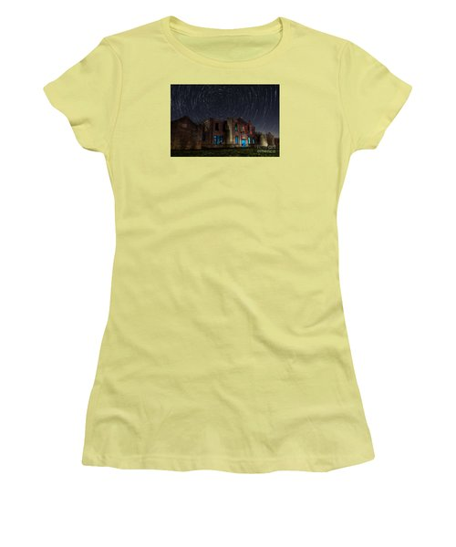 Mosheim Texas Schoolhouse Women's T-Shirt (Athletic Fit)