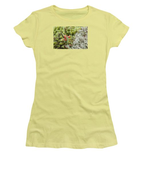 Mossy Forest Women's T-Shirt (Athletic Fit)